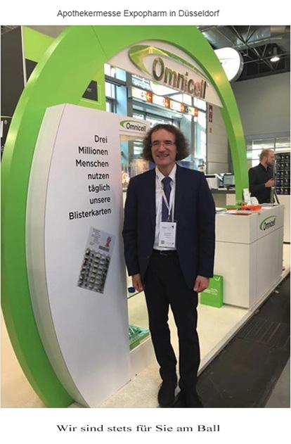 Burkhard Waimann auf Expopharm Düsseldorf