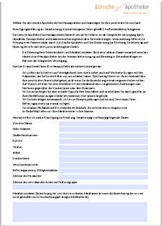 ServiceCard Piktogramm Antragsformular
